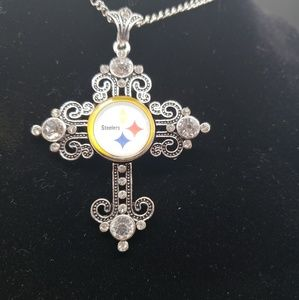 Pittsburgh steelers necklace